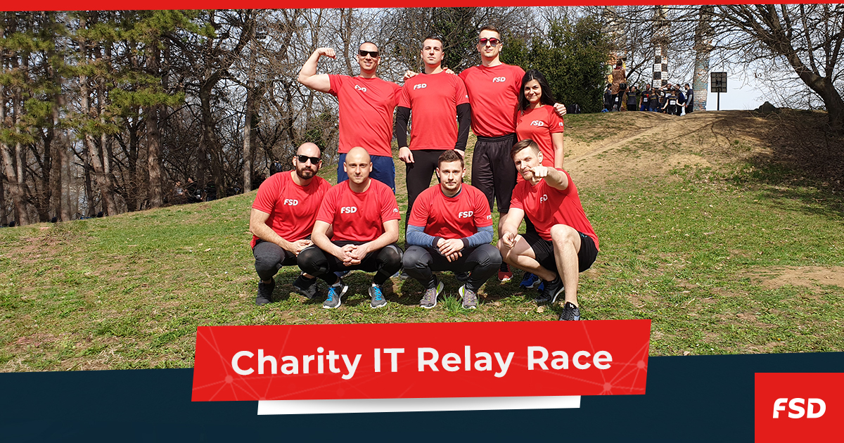 Charity IT Relay Race 2019