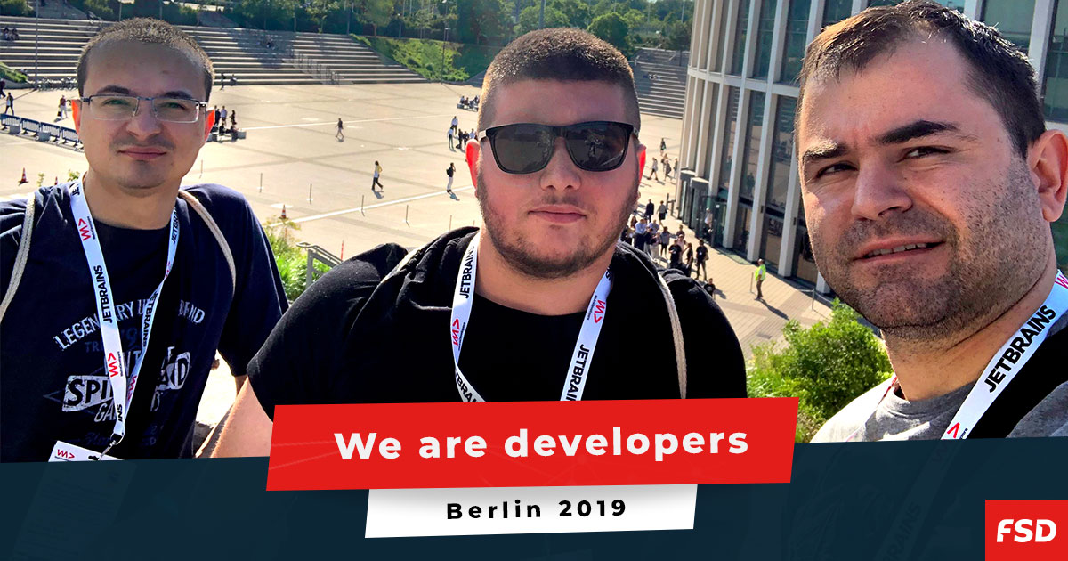 Largest event for developers in Europe